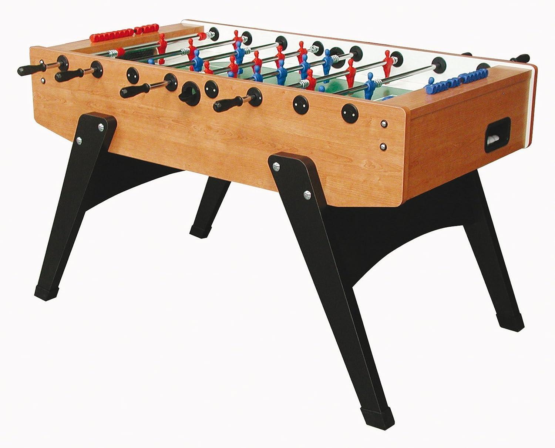 Kickertisch Garlando G2000 Fussballtisch Kirsch mit Laminatspielfläche,Tisch-Kicker