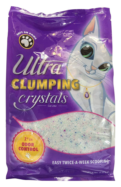 Amazon.com: Arena para gatos de cristal ultra Pet Clumping ...