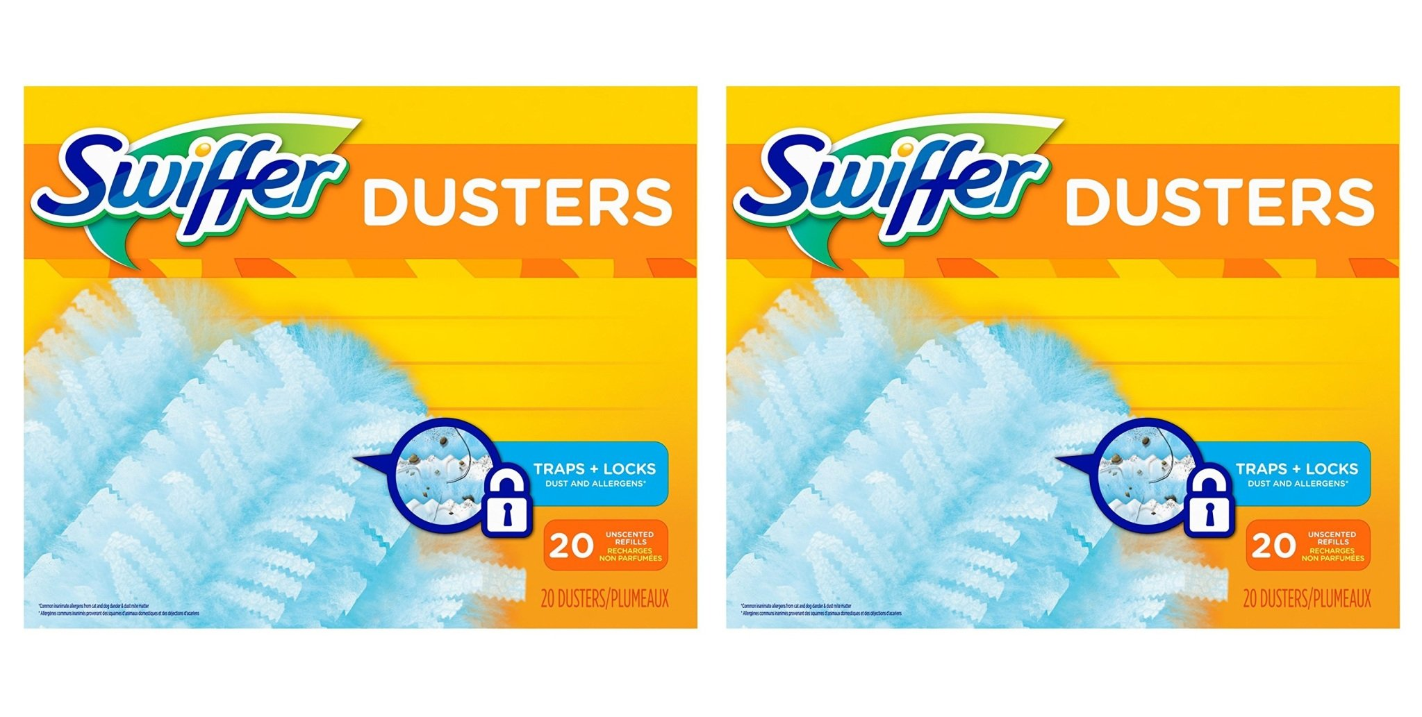 Swiffer 180 Dusters Refills Unscented 2Pack (20 Count)