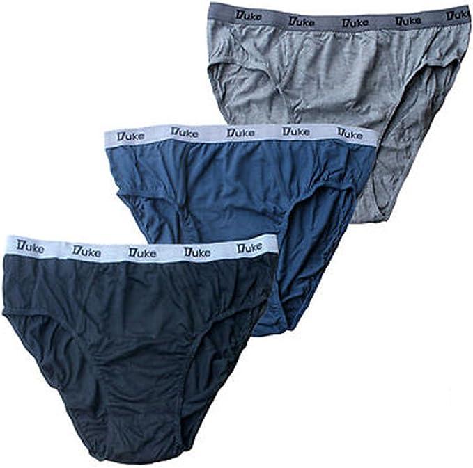 Duke London Hombre Calzoncillos Algodón Underwear- Paquete de 3 1xl-6xl