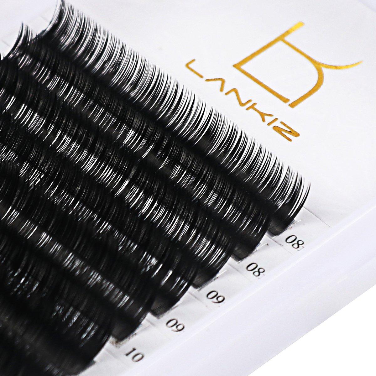 Eyelash Extensions C Curl 0.07mm Mixed Tray Volume Eyelashes Natural Light False Mink Lash Individual Eyelashes Extension Salon Perfect Use By Lk Lankiz. by Lk Lankiz