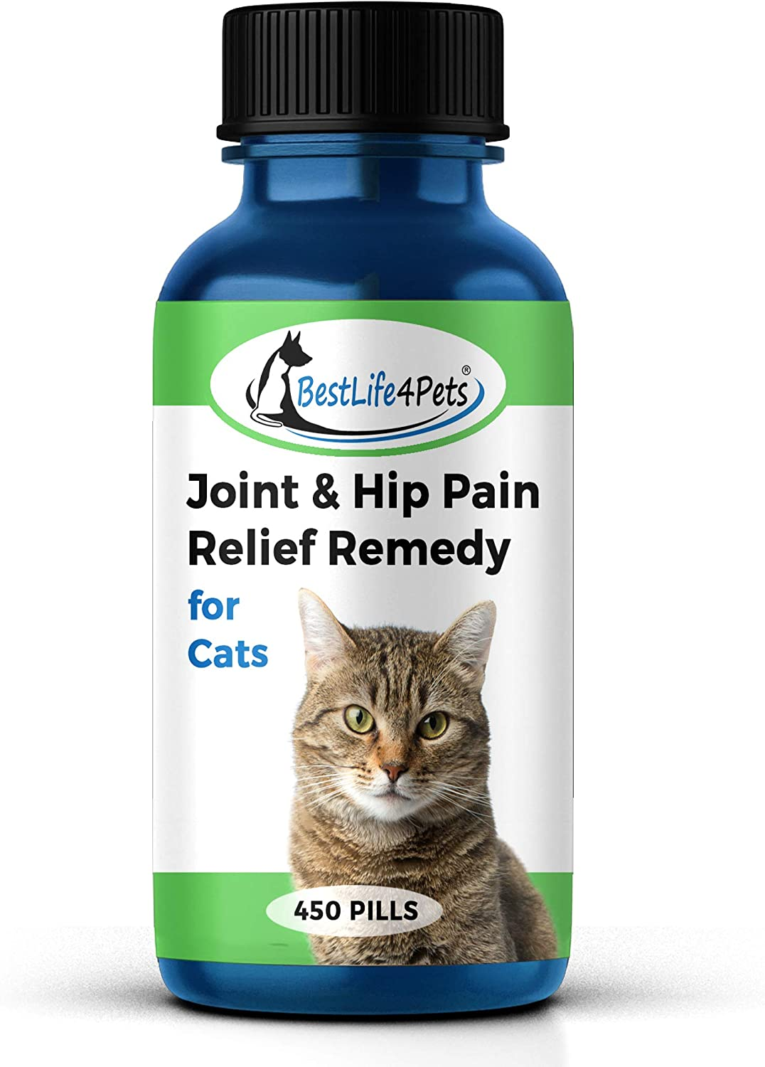 Amazon Com Cat Hip And Joint Pain Relief Natural Anti Inflammatory Remedy For Chronic Arthritis Pain And Joint Support Helps Restore Mobility Energy And Flexibility No Fuss Easy To Use