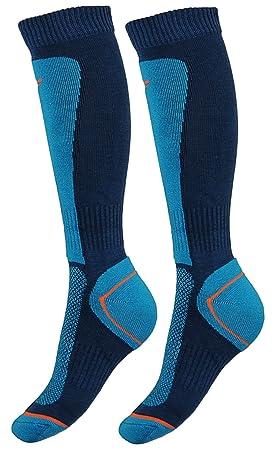 4F Ski-calcetines SOMN200X, color - naviblau, tamaño 39-42: Amazon.es: Deportes y aire libre