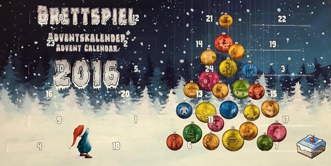Brettspiel - Adventskalender 2016 - Deutsch English