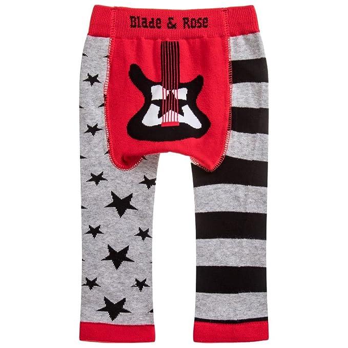 Age 1-2 Blade and Rose Guitar Leggings