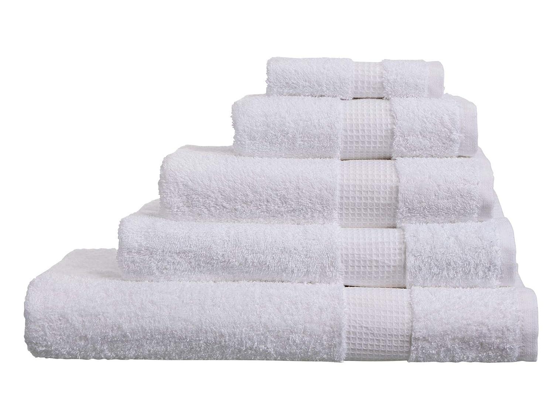 4 Pack Face Cloths Toallas de algod/ón Egipcio 700 g//m/² Gris Oscuro Olivia Rocco