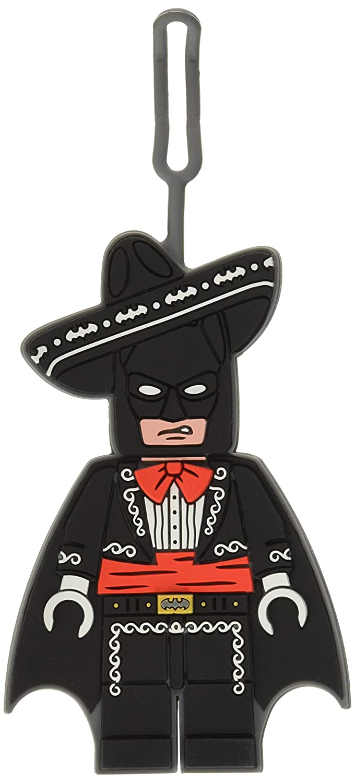 LEGO Batman equipaje, morado, 13cm: Amazon.es: Oficina y ...
