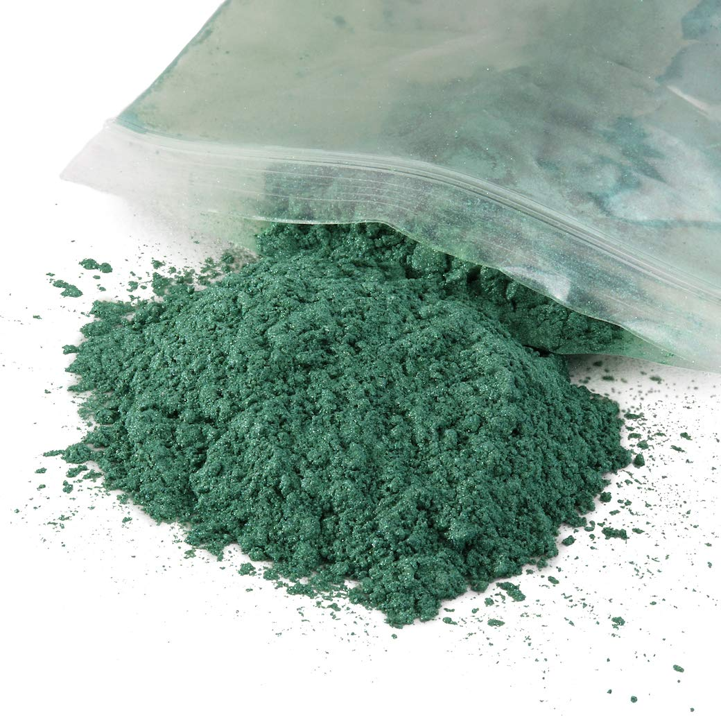 Mica Powder Pigment-for Use in Epoxy, Soap Making, Resin, Artwork, Crafts and More! 50 Grams of Brilliant Color! (Magic Yellow) Pemline 688970437714