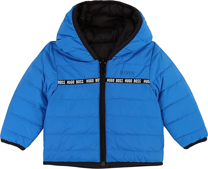 Sale Hugo Boss Kids J21186 861 Baseball Cap Electric Blue