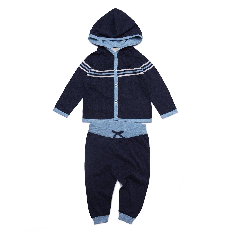 b16547034b Amazon.com: Angel Dear 2 Piece Hoodie Sweater Gift Set Outfit, Baby ...