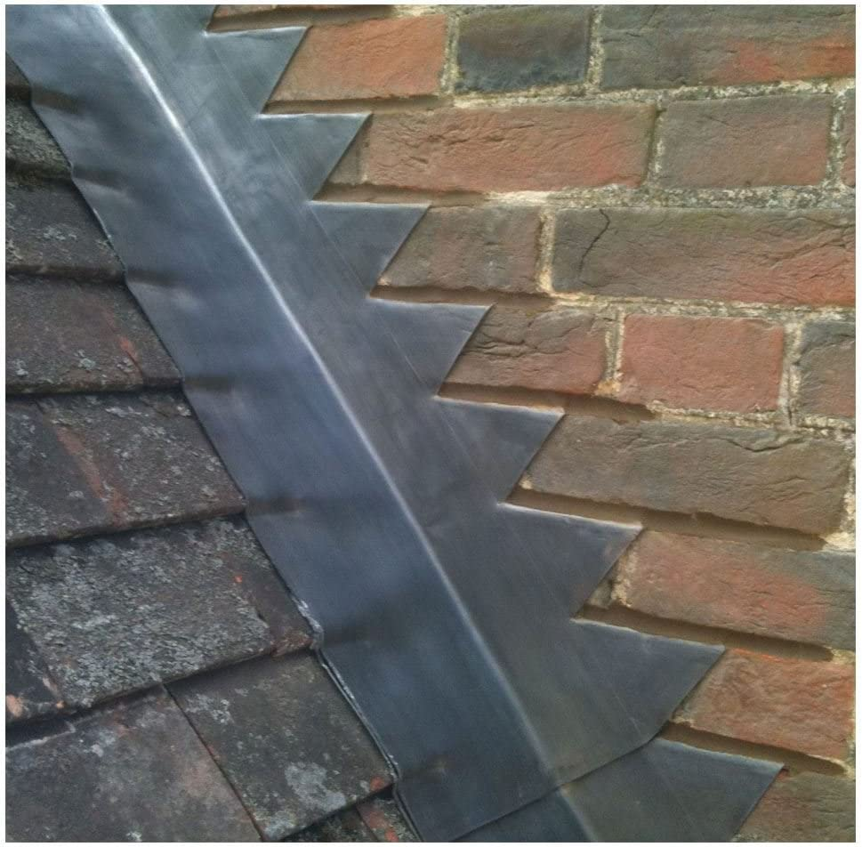 5m Length of 150mm Wide 6 inch Code 3 Lead Flashing Roof Roofing Repair Midland Lead