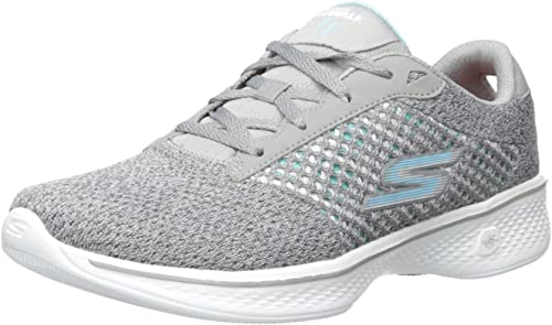Skechers Damen Gowalk 4 Exceed Sneakers, Schwarz: Skechers