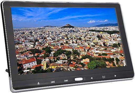Monitor portátil para Juegos de 11,6 Pulgadas, Pantalla LCD TFT 1920x1080 FHD Reposacabezas Pantalla para Juegos en DVD Soporte para Altavoces incorporados HDMI, USB, RCA, AV, Tarjeta SD/Tarjeta MMC: Amazon.es: Electrónica