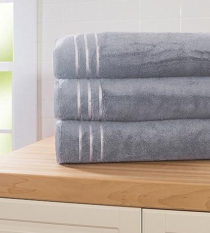 Amazon Com Cariloha Bamboo Bath Sheet Highly Absorbent Odor