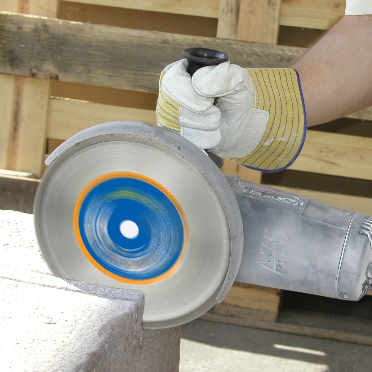 S/&R Diamond Cutting Disc 230x22,2 mm Blade for angle grinder Masonry discs Stone Brick universal use: Concrete