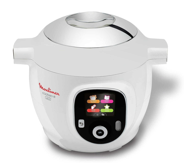 Moulinex YY2943FB Multicuiseur Intelligent Cookeo avec prise USB 150  Recettes 6L Finition Chromé 1600 W Amazon.fr Cuisine \u0026 Maison