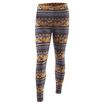 B.I.L.Y Love You Women's Brushed Super Soft Print Leggings For Tunics