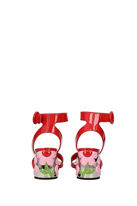 4f6968a4514 Prada Sandals Women - Patent Leather (1X379HLACCA) 3 UK  Amazon.co.uk  Shoes    Bags