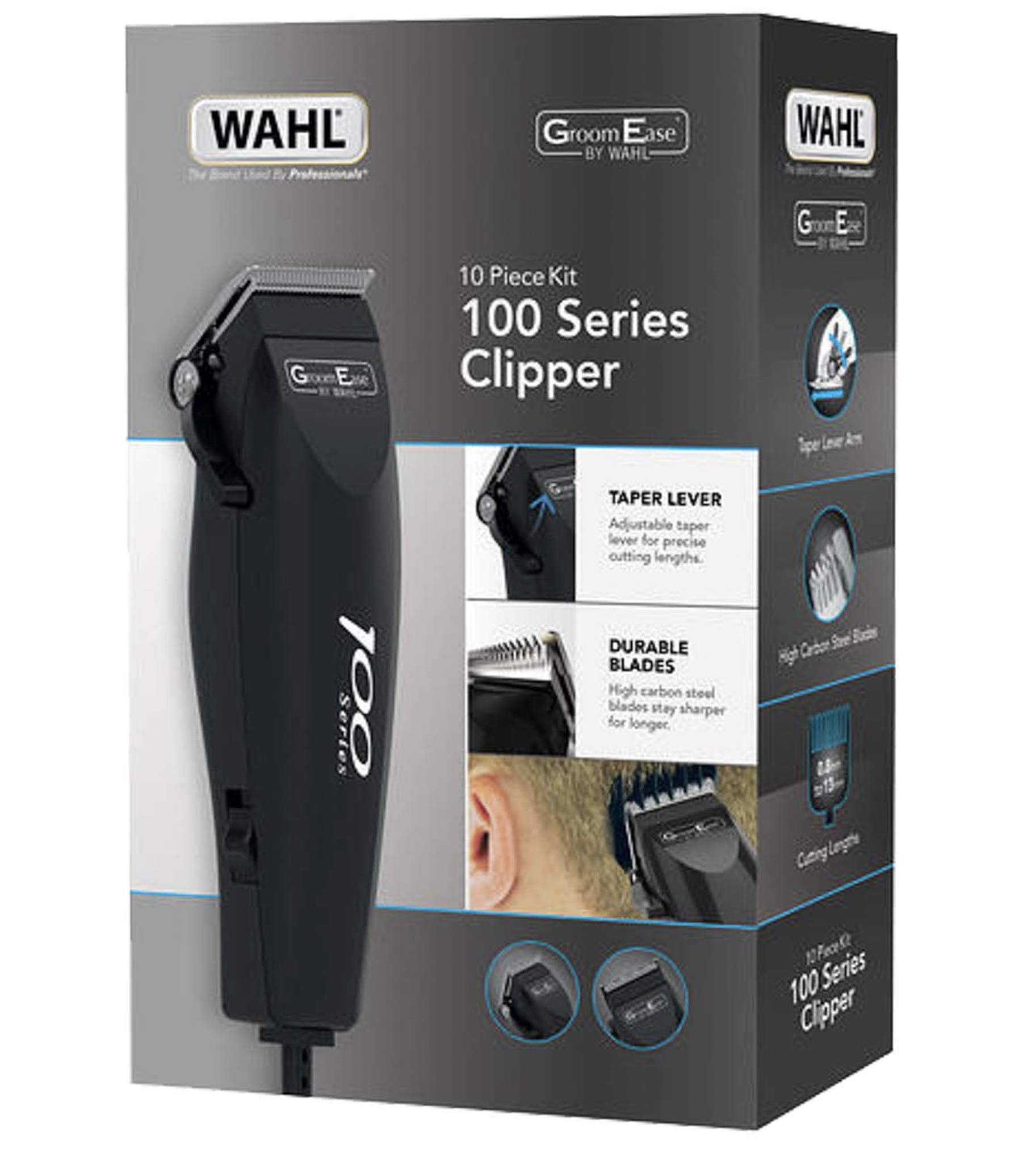 Brand New WAHL 100 Series Hair Trimmer Complete Clipper Set