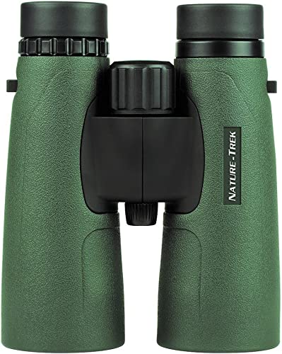 Hawke Sport Optics HA4155 Nature-Trek 12X50 BAK4 Binocular, Green