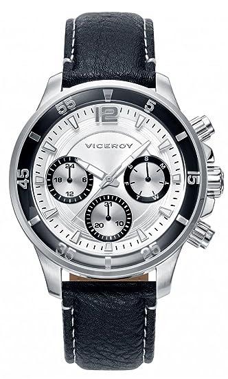 Viceroy Reloj Multiesfera para Hombre de Cuarzo con Correa en Cuero 42223-05