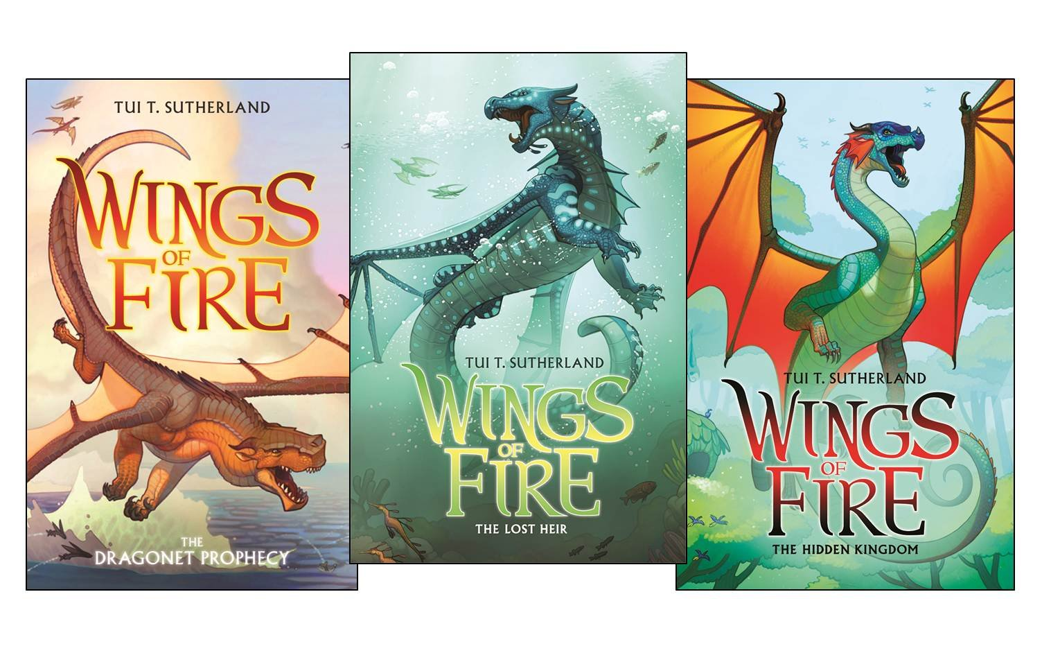 Wings of Fire Collection (Books 1-3) by Tui T Sutherland (June 01,2013) PDF