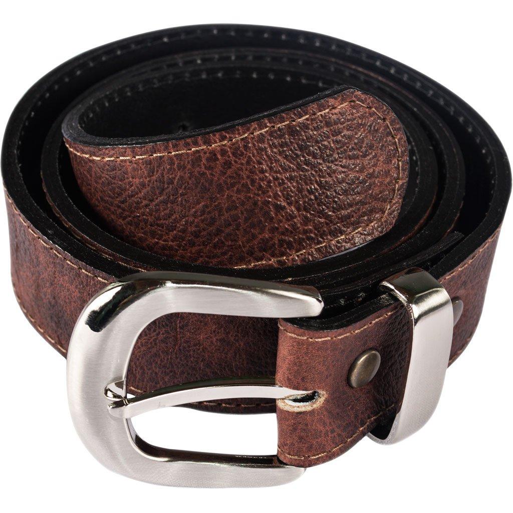 Atitlan Leather Brown Leather Money Belt 30