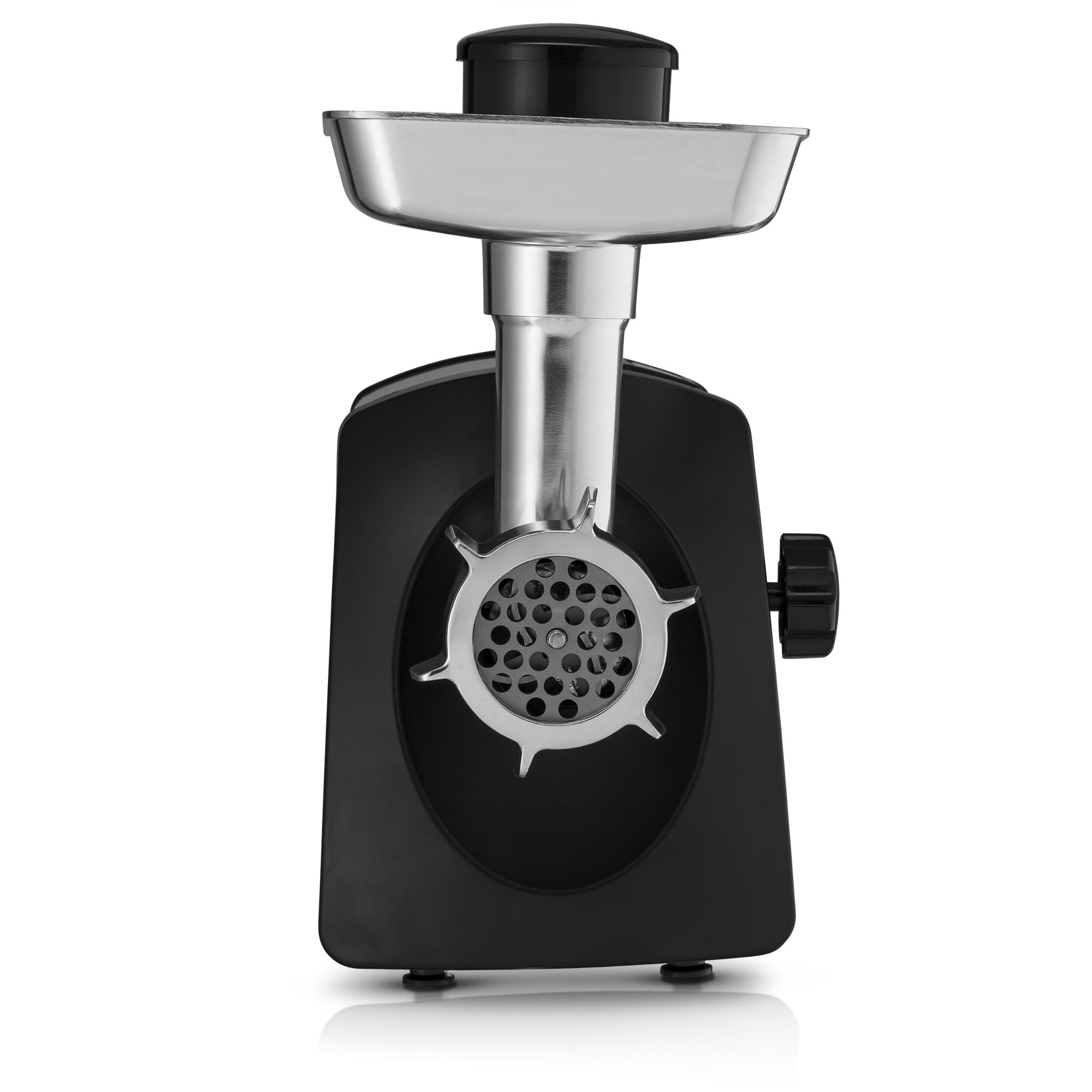 Gourmia GMG7500 Prime Plus Stainless Steel Electric Meat Grinder Different Grinding Plates, Sausage Funnels And Kibbeh Attachment Recipe Book Included 800 Watts ETL Approved 2200 Watts Max. - 110V by Gourmia (Image #3)
