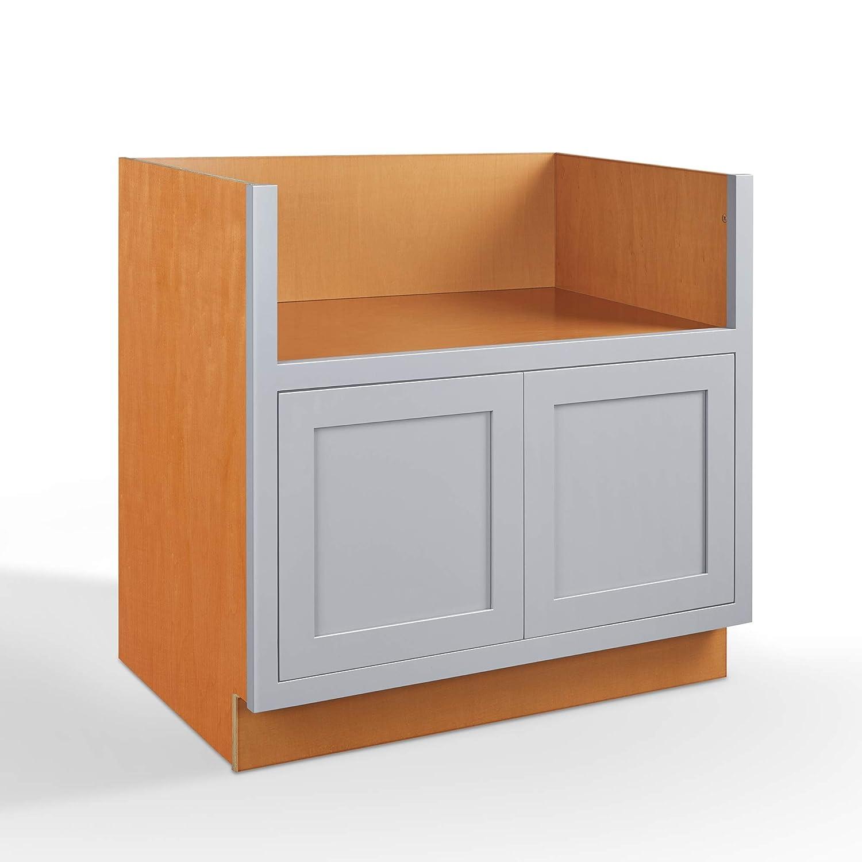 Amazon.com: Inset Modern Shaker Style RTA Birch Wood Storage ...