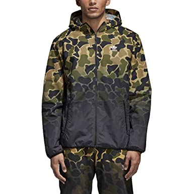 c8ea07989f882 adidas Originals Mens Camo Windbreaker at Amazon Men's Clothing store: