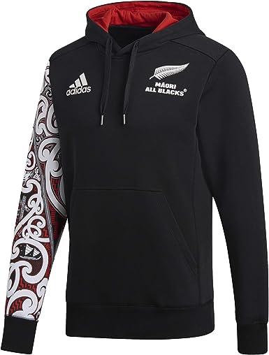 casado Circunferencia Confundir  adidas All Blacks Chaqueta con Capucha de Maorí: Amazon.es: Ropa y  accesorios