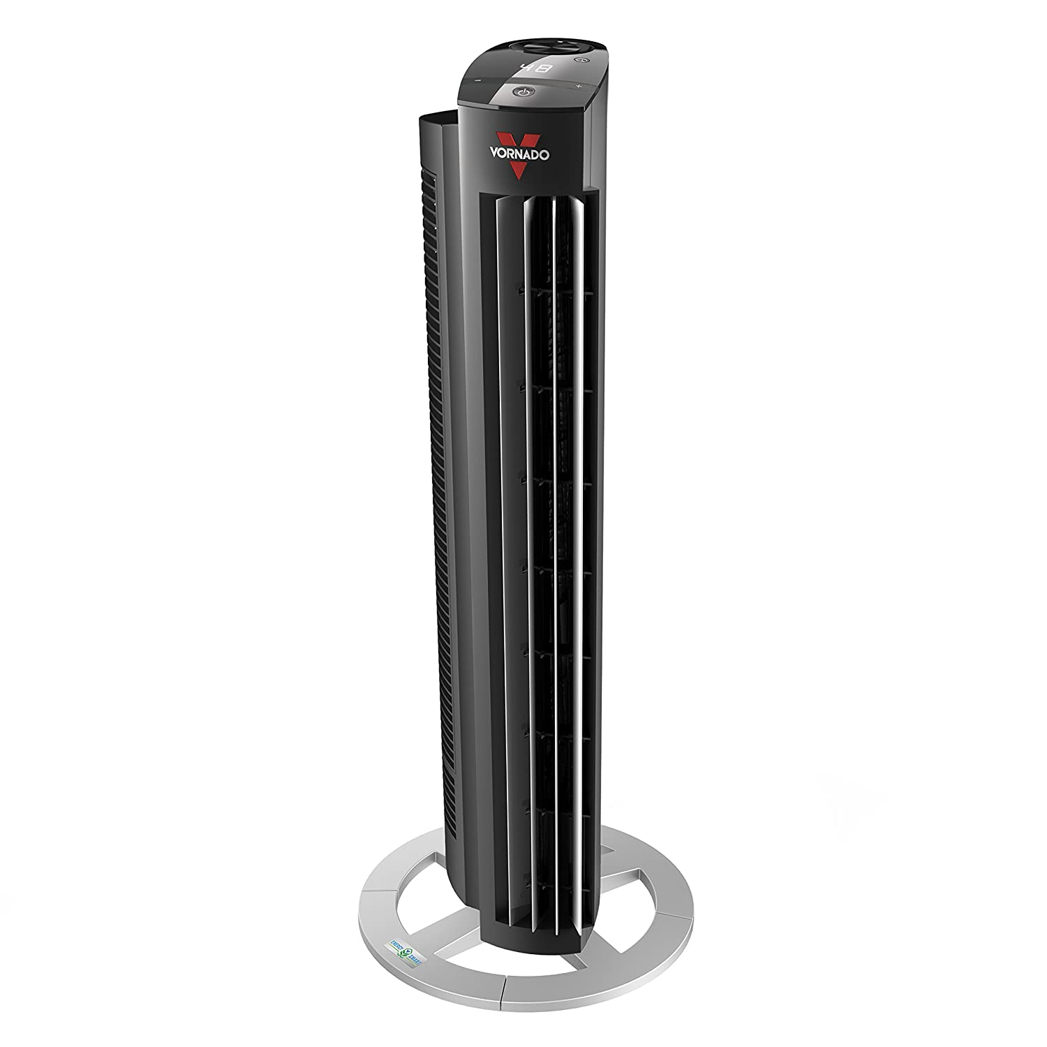 Vornado NGT33DC Energy Smart Tower Air Circulator Fan with Variable Speed, 33