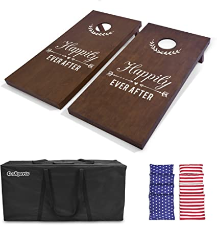 Heavy Weight Canvas CORNHOLE Baggo Bean Bag Board CARRYING CASE HOLDS 2 BOARDS