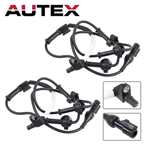 Autex 2pcs Front Left Front Right Abs Wheel Speed Brake Sensor Xl2z2c204ab Compatible With 1995 2001 Ford Explorer 4wd 2001 2002 2003 2004 2005 Ford