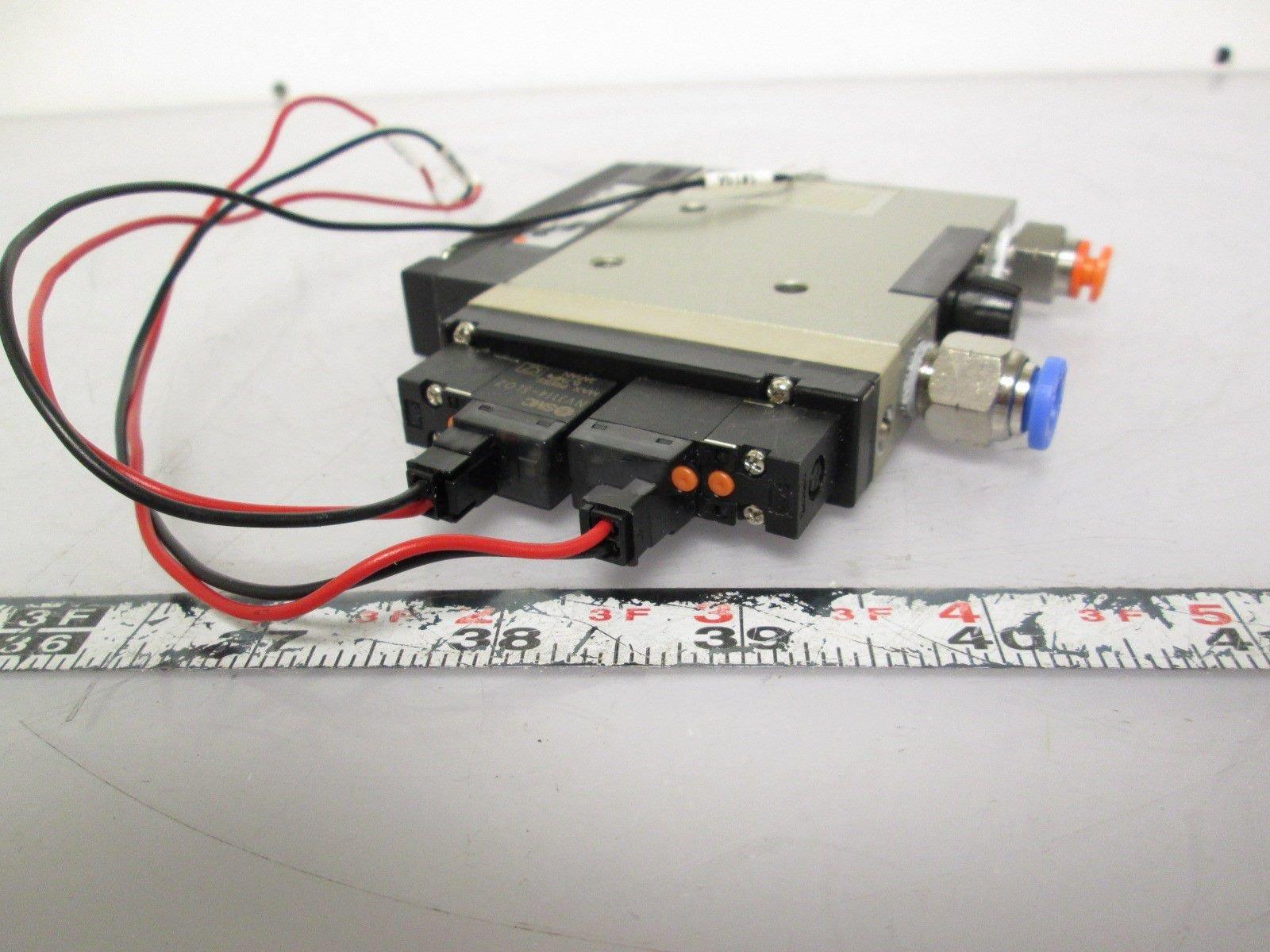 SMC NZM051HT-K5LZ Vacuum Generator 75PSI Supply Pressure 24inHg by SMC