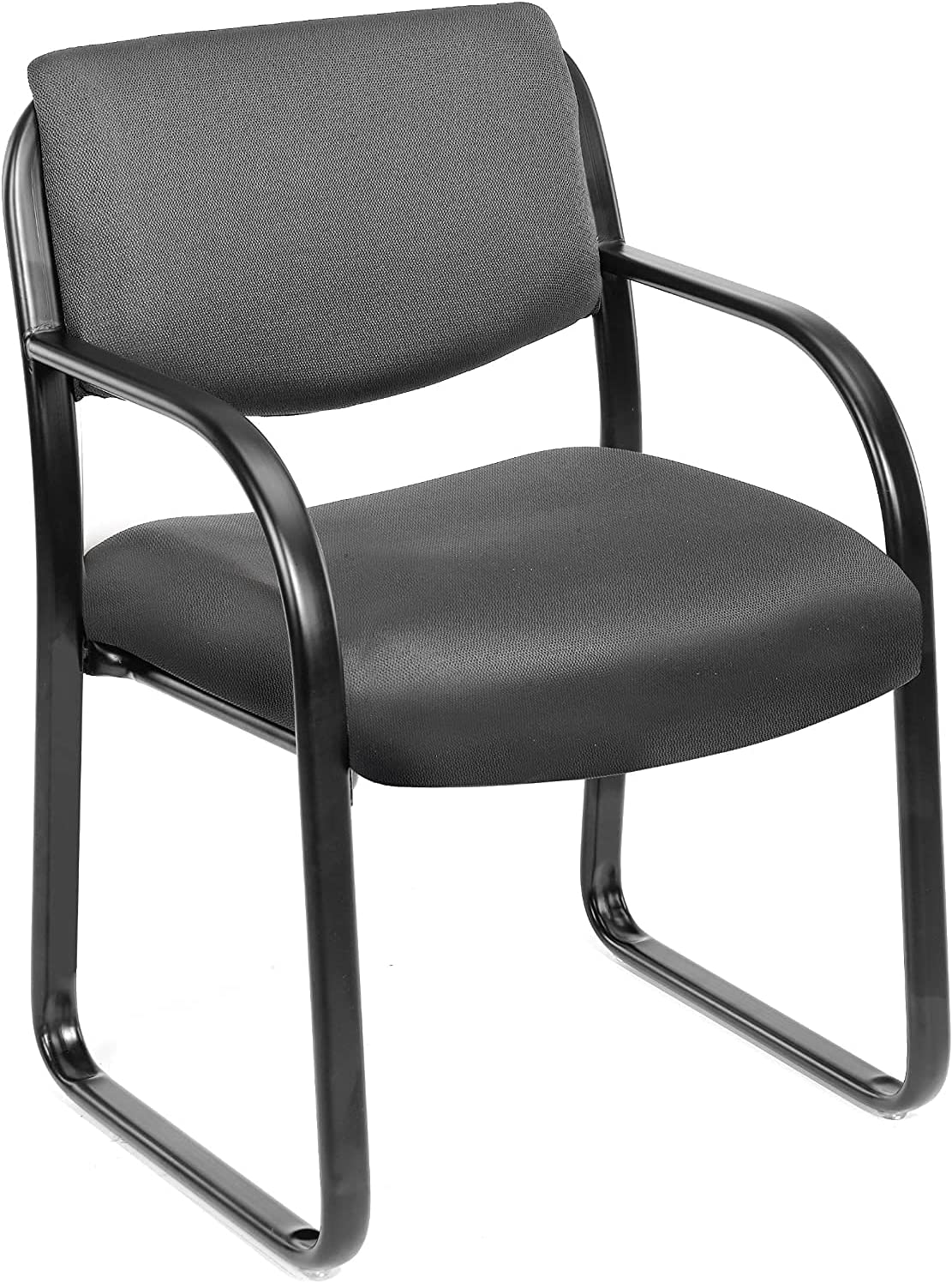 Fabric Guest Chair in Grey. (Premium)
