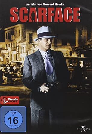 amazon co jp scarface 1932 import allemand dvd ブルーレイ