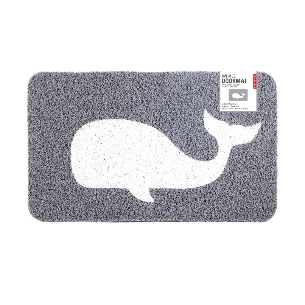 Kikkerland Whale Doormat DM33