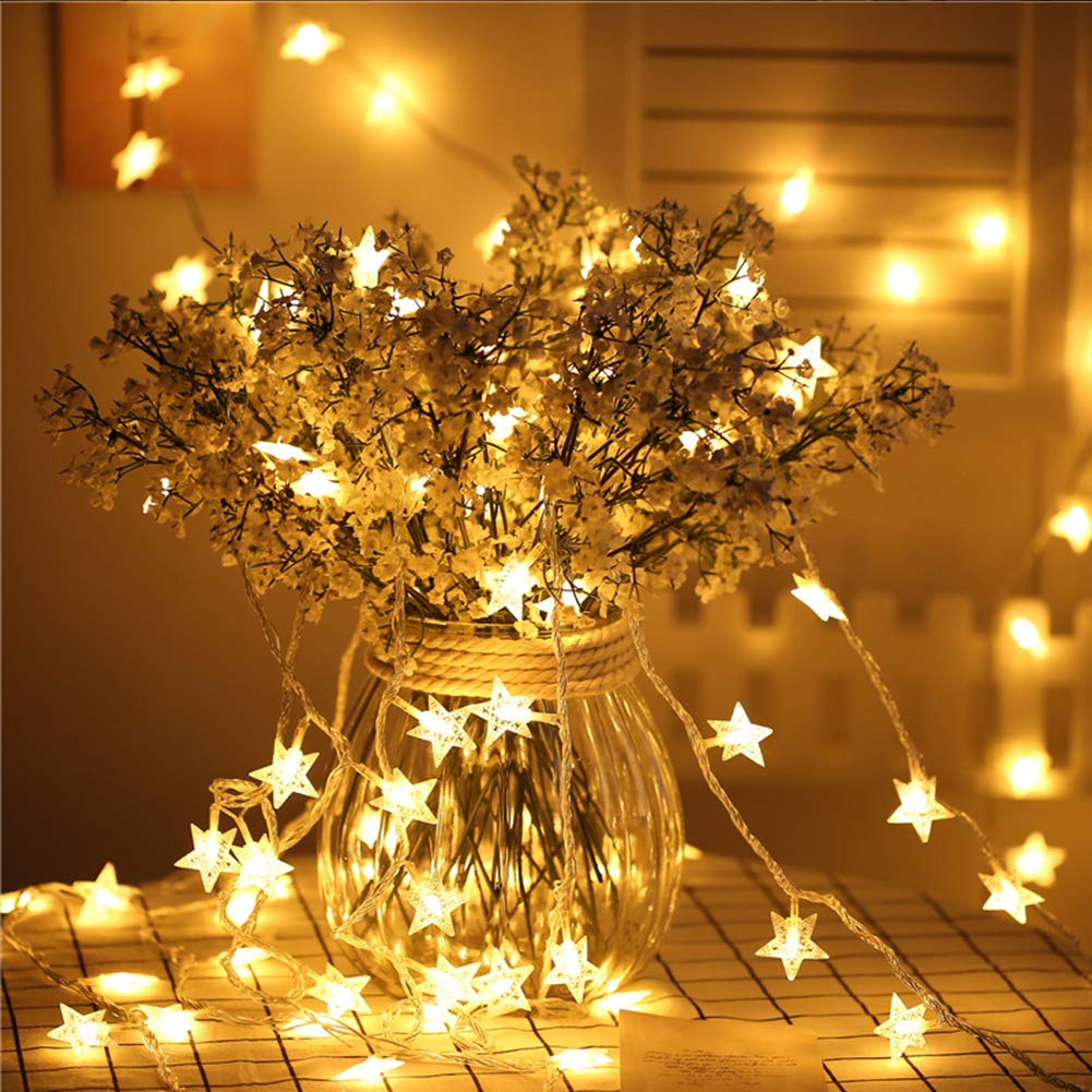 Twinkle Star 100 Led 49 Ft Star String Lights Plug In