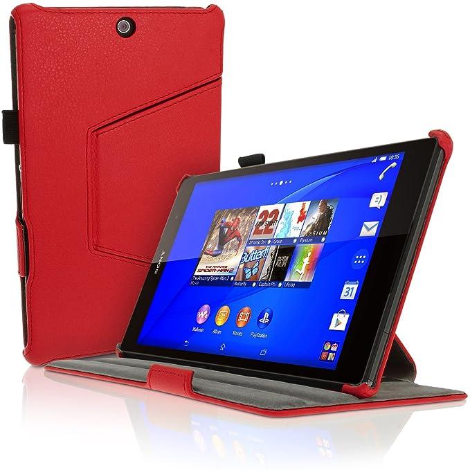 "1 opinioni per iGadgitz U3449 9"" Custodia a libro Rosso custodia per tablet"