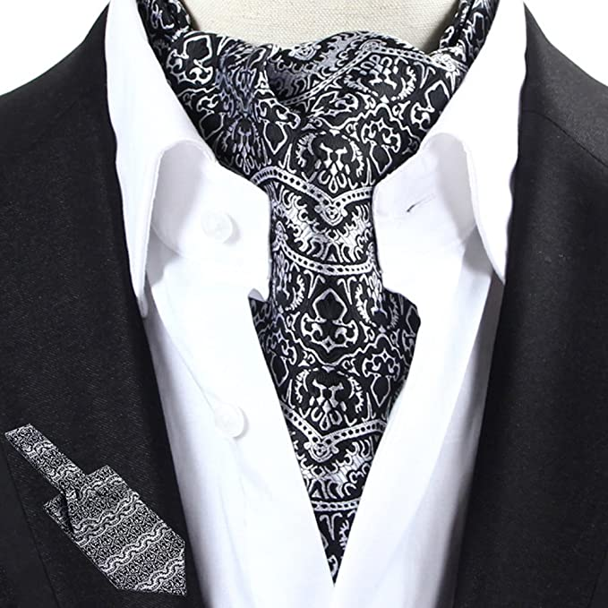 LIXIONG Hombres Corbata Bufanda Doble Cara Patrón Camisa Bufanda Toalla de Cuello de Moda, 19 Tipos de Estilo (Color : #12): Amazon.es: Jardín