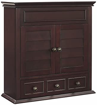 Exceptionnel Crosley Furniture Lydia Bathroom Wall Cabinet   Espresso
