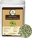Naturevibe Botanicals Organic Thyme Leaves, 16 ounces (1lb) | Non-GMO and Gluten Free | Adds Aroma and Flavor