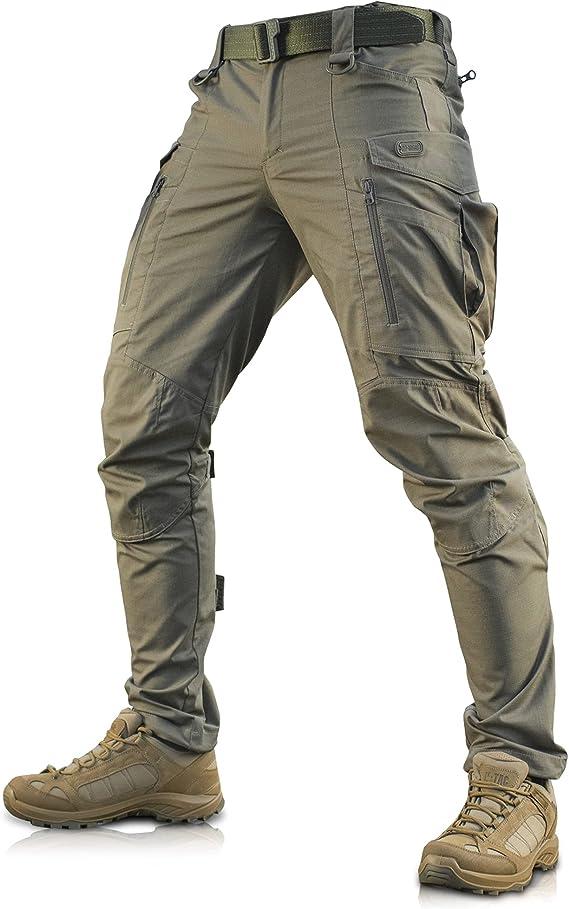 Conquistador Flex Pantalones Tacticos Hombre Con Bolsillos Cargo Amazon Com Mx Ropa Zapatos Y Accesorios