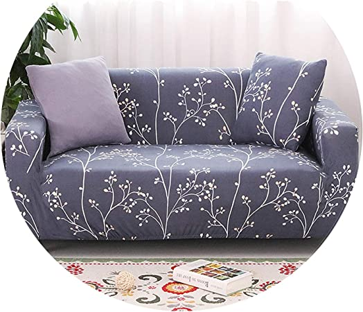 6Pcs Black/_Size S Sofa Seat Cushion Cover Couch Slipcover Replacement