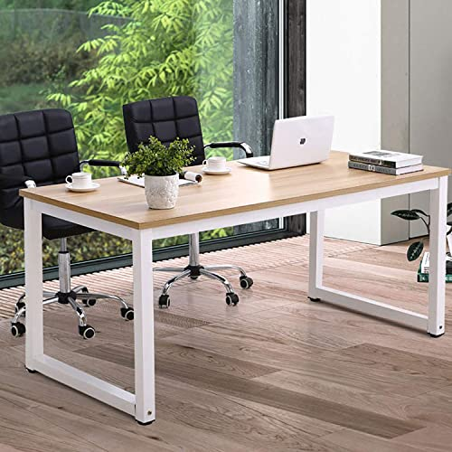 Home Office Desk Computer Desk 63 Inch Large Computer Table