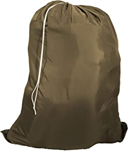 Owen Sewn Heavy Duty 40inx50in Nylon Laundry Bag (Coyote)