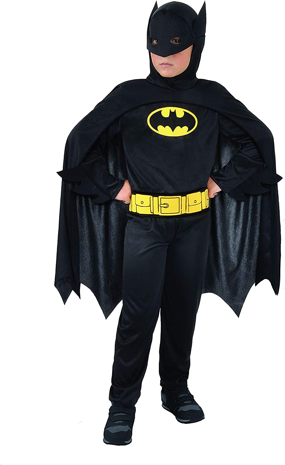 Ciao- Batman Dark Knight Costume Bambino Originale DC Comics (Taglia 3-4 Anni) Disfraces, Color (11670.3-4)