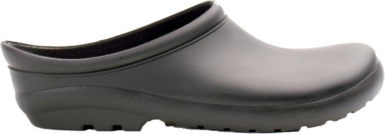 Sloggers 260BK07 Womens Premium Clog, Black, Size 7