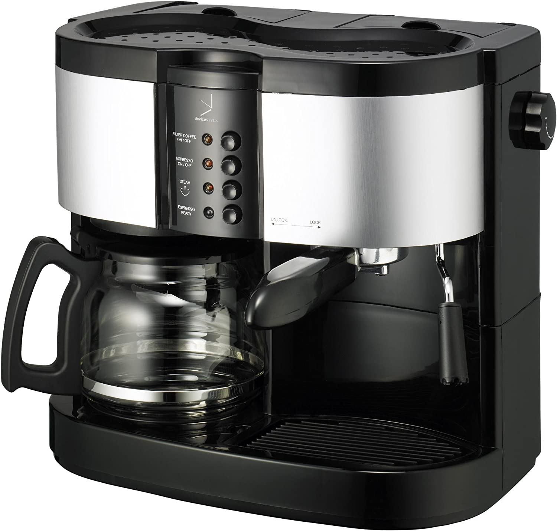 デバイスタイル ブルーノパッソ ハイブリッドエスプレッソ・コーヒーメーカー HA-W120